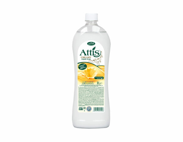attis-mydlo-mleko-miod-butelka-plastikowa-zapas-1l