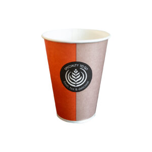 huhtamaki-kubek-papierowy-jednorazowy-pomaranczowy-bezowy-bialy-srodek-180-ml-sp8