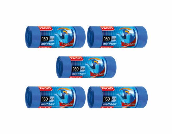 multitop-mtop-worki-na-smieci-odpady-niebieskie-easy-close-latwe-w-zawiazywaniu-zamknieciu-160-l-10-sztuk-paclan-zestaw-5-opakowan