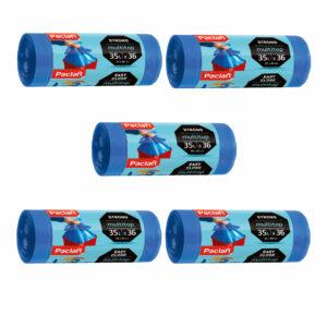 multitop-mtop-worki-na-smieci-odpady-niebieskie-easy-close-latwe-w-zawiazywaniu-zamknieciu-35-l-36-sztuk-paclan-zestaw-5-opakowan