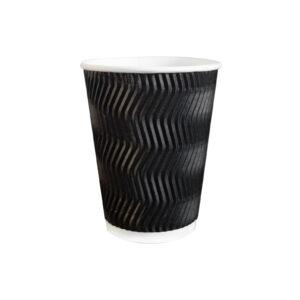 odra-pak-kubek-papierowy-tektura-dwie-warstwy-czarny-fala-bialy-srodek