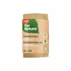 paper-bags-for-food-waste-compostale-paclan-for-nature-papierowe-worki-na-odpady-zywnosciowe-kompostowalne-10l-10-sztuk