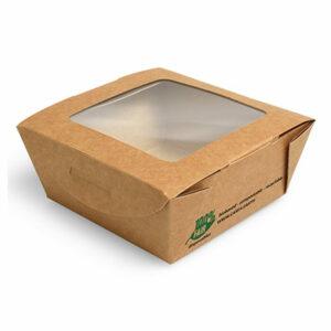 papstar-pojemnik-salatkowy-papier-z-okienkiem-z-pla-350ml