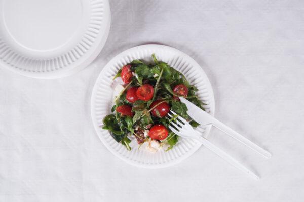widelec-noz-plastikowy-jednorazowy-bialy-talerz-talerze-papierowy-abc-obrus-bialy-papstar-salatka