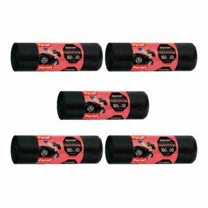 worki-na-smieci-odpady-big-strong-czarne-160-l-paclan-10-sztuk-resistant-zestaw-5-opakowania