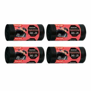 worki-na-smieci-odpady-big-strong-czarne-240-l-paclan-20-sztuk-resistant-zestaw-4-opakowania