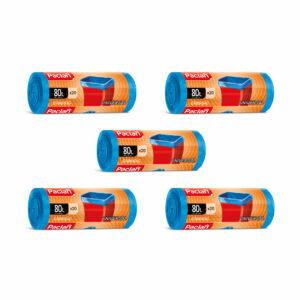 worki-na-smieci-odpady-classic-universal-paclan-80-l-20-sztuk-niebieskie-zestaw-5-rolek