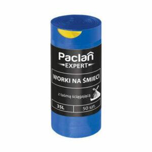 worki-na-smieci-odpady-paclan-expert-35-l-50-sztuk-niebieskie-latwe-w-zamknieciu-z-tasma