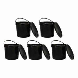 czarne-wiadro-plastikowe-z-pokrywka-5-sztuk
